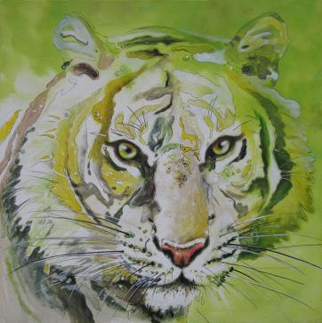 Tiger from the sun