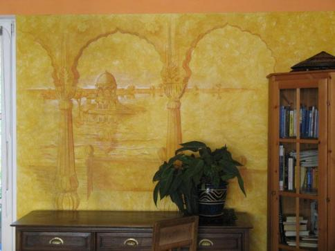 interior wallpainting